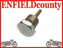 BRAND NEW ROYAL ENFIELD BULLET CHROME PLATED OIL FEED PLUG 140038