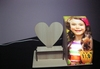 subliamtion acrylic photo frame table lamp