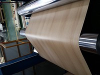 1100/3003 series PE/PVDF White Color Wooden Grains Aluminum Coil For Aluminum Composite Panel