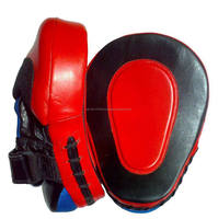 Kick Boxing Coaching and focus pad padded with eva foam and jumbo/MMA, Boxing Training Equipment/ Curved Taekwondo Focus Mitt/Ki