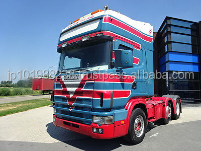 USED TRUCKS - SCANIA R164.480 6X2 TRACTOR UNIT (LHD 7327)