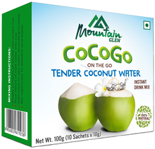 Tender coconut Natural water powder for instant drink