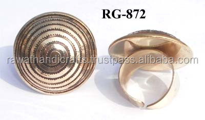 Buy online Wholesales Gold plated Brass Rings jewelry RG-872