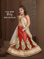KIDS DESIGNER LEHENGA FOR WHOLESALE