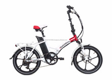 350W Motor Folding Electric Bicycle (MS-TDN11-2)