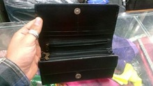 NEW Mens Ladies TOP Quality LEATHER COIN TRAY/PURSE Zip yes it is good TRI-2156