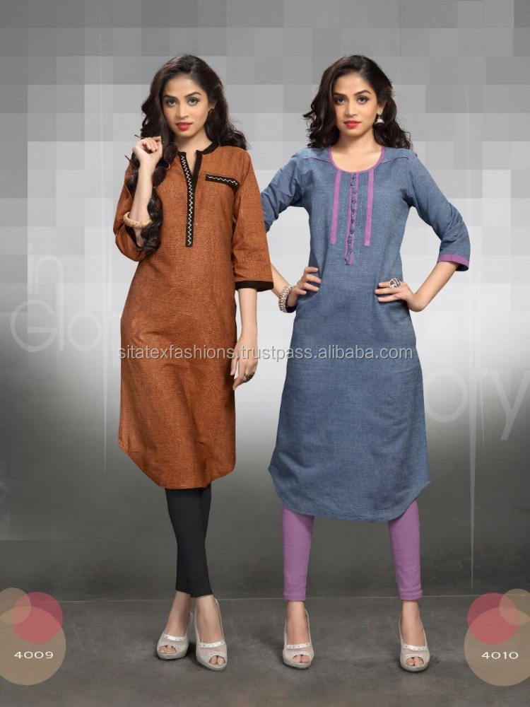 Indian Bollywood Designer Ethnic Kurta Kurti Ladies Women Top Tunic Casual Dress