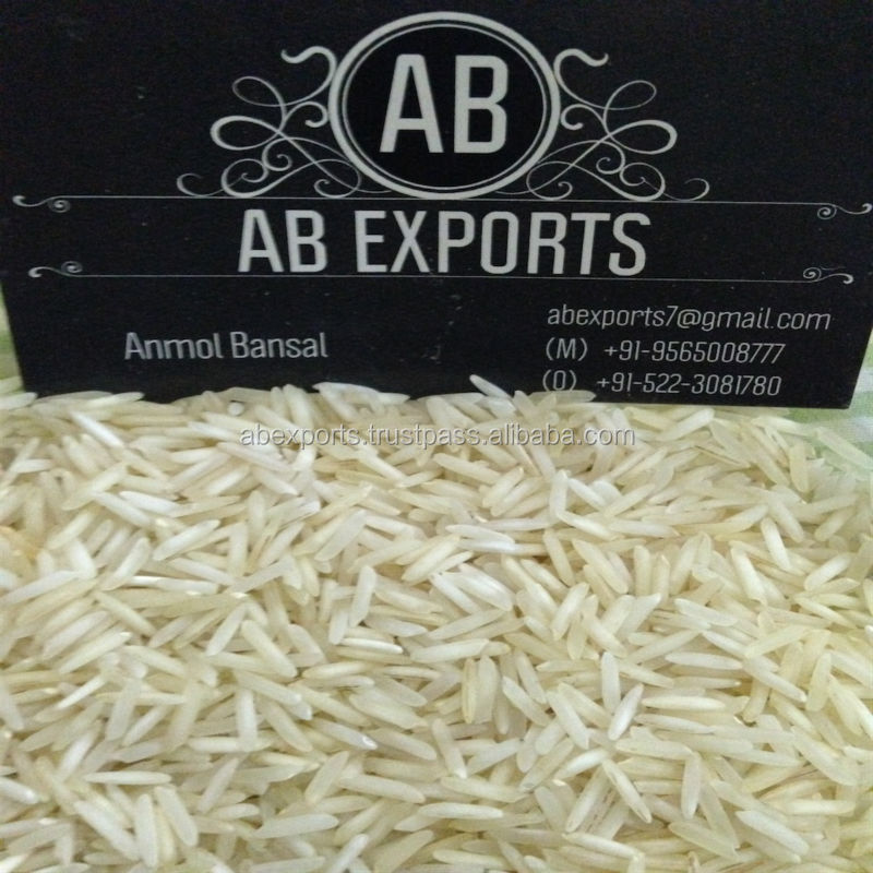 Indian 1121 White Basmati Rice Steamed