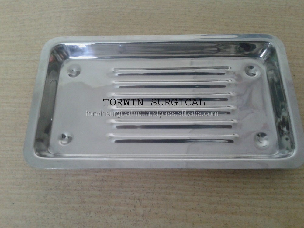 Dental Tray with design stainless steel