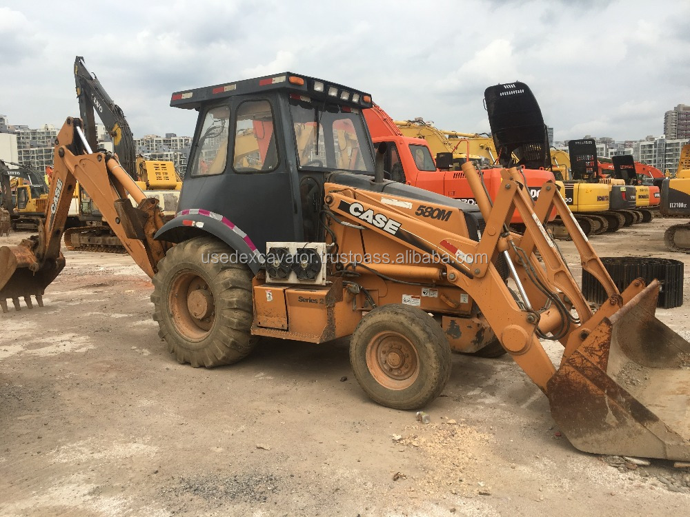Cheap backhoe loader Case 580M2, used Backhoe loader Case 580M2