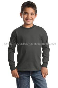 Port & Company - Youth Long Sleeve Essential T-Shirt. PC61YLS.