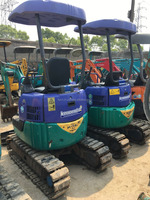 certificate used condition second-hand japan pc15mr-1 pc20mr-2 pc1.5 ton pc 2 ton mini smallest excavator digger