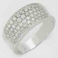 Online shop alibaba white gold diamond jewellery made in Thailand at low price