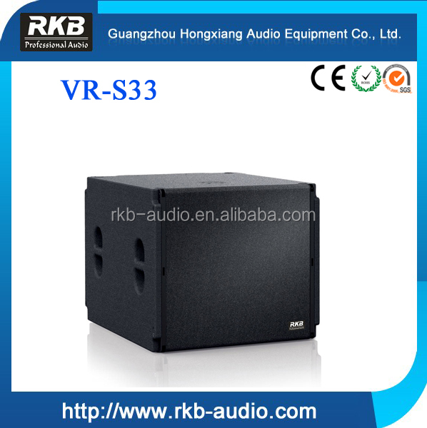 China factory VRS33 18 inch outdoor speaker / loudspeaker