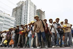 Construction Labour Recruitment Services from India