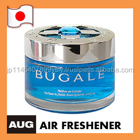 Gel-type car air fresheners deodorizer with various scents