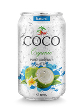 Supplier Pure Coconut water in Aluminium can 330ml