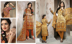 punjabi Winter Wear Digital Printed salwar Suit