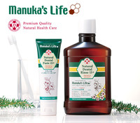 "Premium quality teeth whitening toothpaste ""MANUKA HONEY""natural oral care OEM, also avaiable"