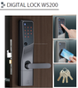 Japanese smart electric lock for high level security ALPHA WS200