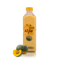 Hanuelcheong Sweet Pumpkin Rice Drink with nutritional 12 grains 1.2L pumpkin juice benefits best grain whole grain foods