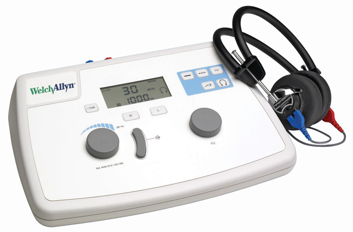 AM282 Manual Audiometer -with Audiometry Headset and Soft Storage Case