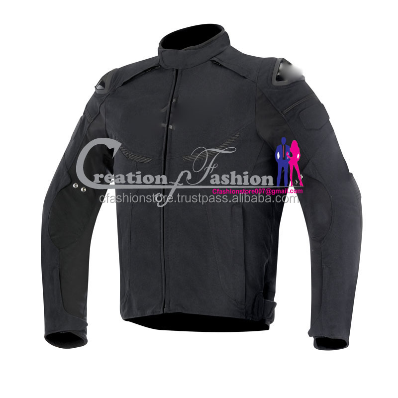 CFCMJM-1527 cordura men racing jacket textile flue enforce ds