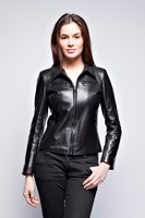 Women Top Brand Long Leather Down Jacket For The Winter