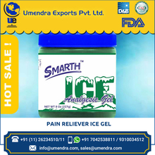 Analgesic Gel / Pain Reliever / Ice Gel - Green with Menthol and Camphor