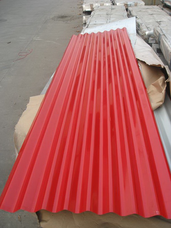 Colored Corrugated roofing sheet
