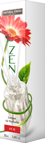 Natural Fresh Select ZEN decorative natural reed diffuser home air freshener