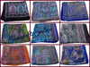 Indian Silk Scarves Pure silk Hijab Neck Wrap Printed Floral Girls From India