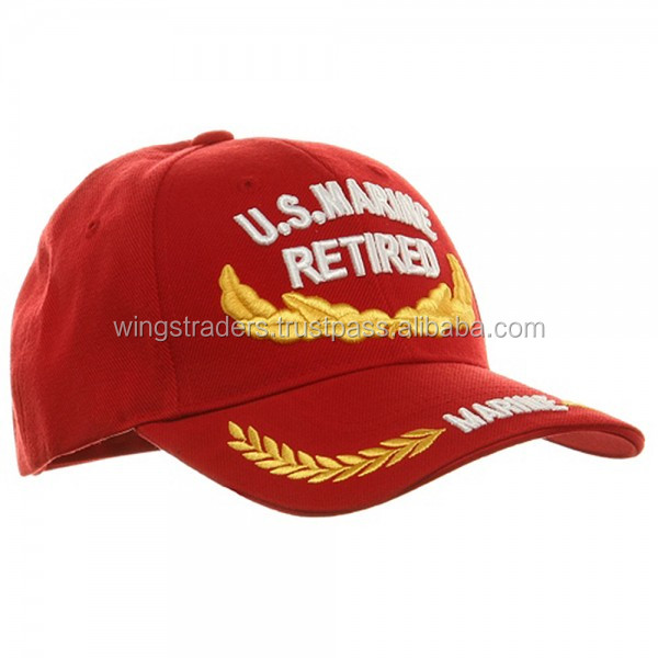 Cheap Army Baseball Cap , Wholesale Army Baseball Cap Best Quality Red Baseball Cap