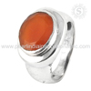 famous 925 Sterling Silver Jewelry Carnelian Ring Wholesaler Silver Jewelry Indian Jewellery Exporter