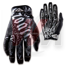 Full Customized American Football Gloves Top / Palm, Cheap Football Gloves American, Latest Model