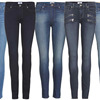 Women Clothing Fall Fashion Denim Pants