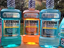 Magic Mouthwash, Listerine Bright & Clean 250ml