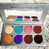MAKEUP ADDICTION COSMETICS NEW FLAMING LOVE EYE SHADOW PALETTE