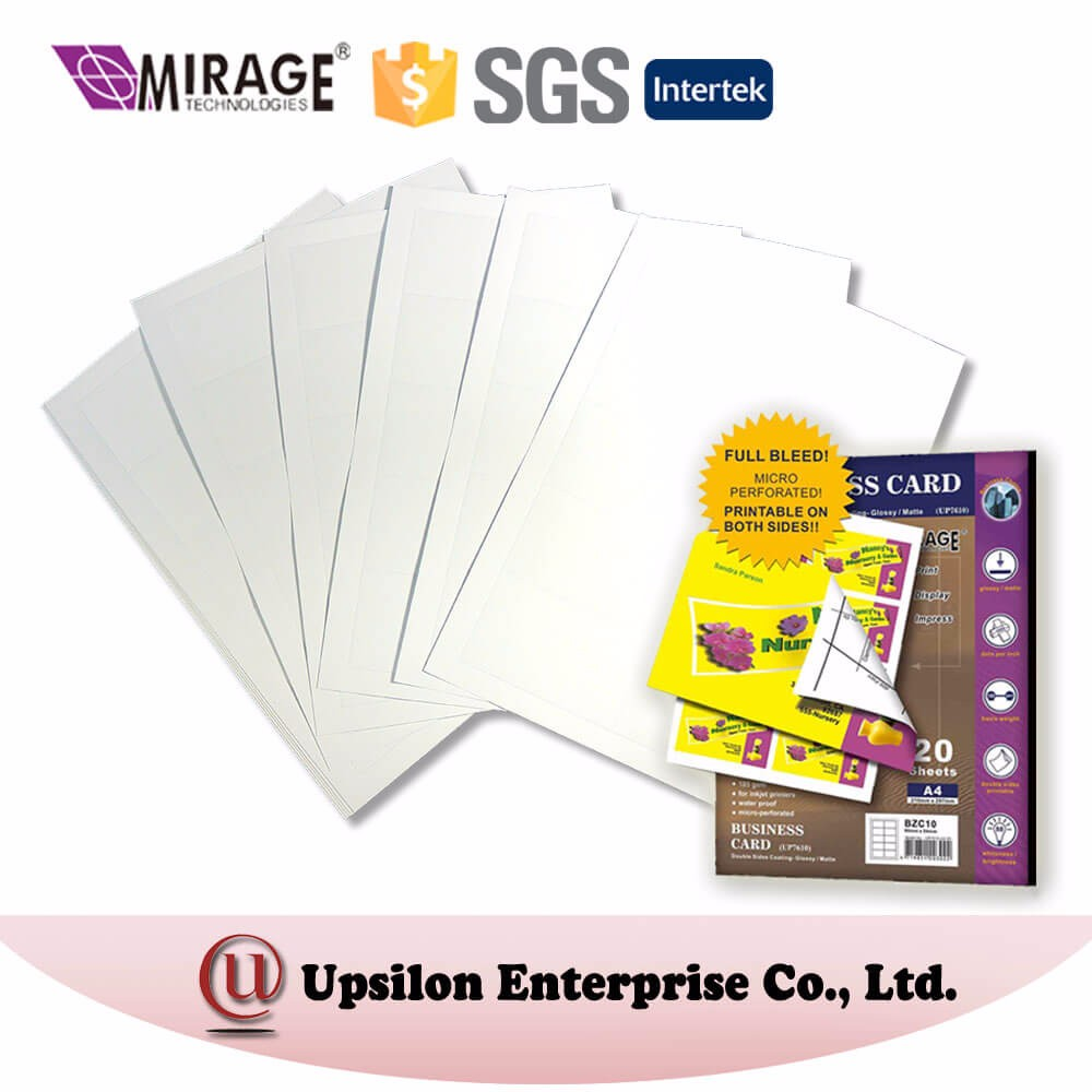 DIY Use Double Side Matte Inkjet Business Art Card Paper