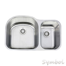 Stainless Steel Sink,Drop in Sink with One Faucet for Granite Countertop