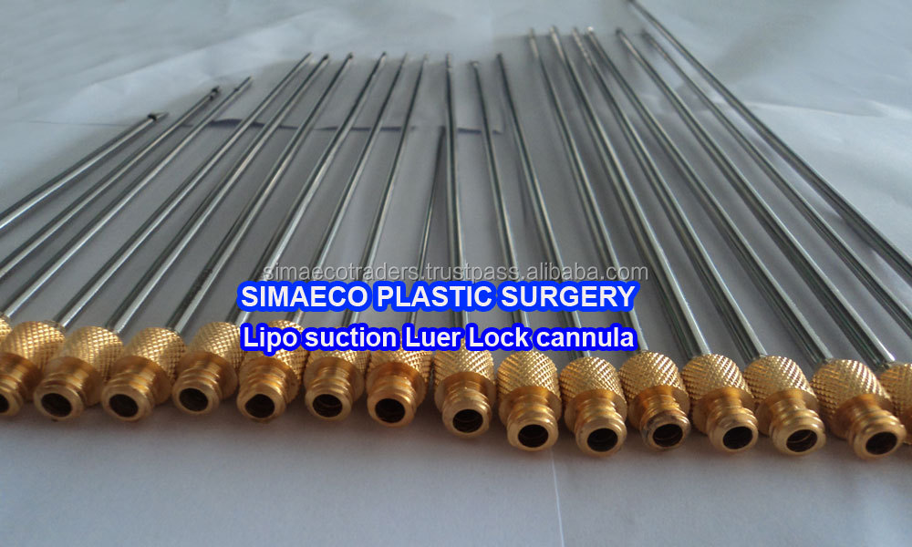Simaeco Plastic Surgery Liposuction Cannula,Luer Lock Cannula Set