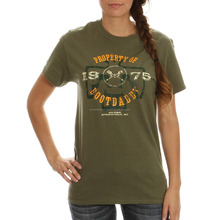 Unisex Army Green T-Shirts, Plain Army Green T-Shirt, Army Green Women T-Shirt