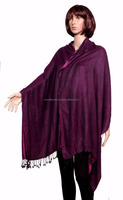 Indian Pashmina Shawl Cashmere Scarf Neck Wrap Reversible Stole wool blend Warm Scarves Indian shawl wholesale