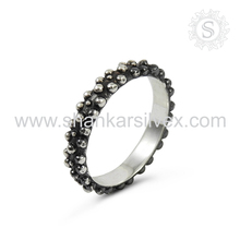 Ingenious High Quality 925 Sterling Silver Ring Handmade Indian Silver Jewelry High Polished Plain Silver Ring