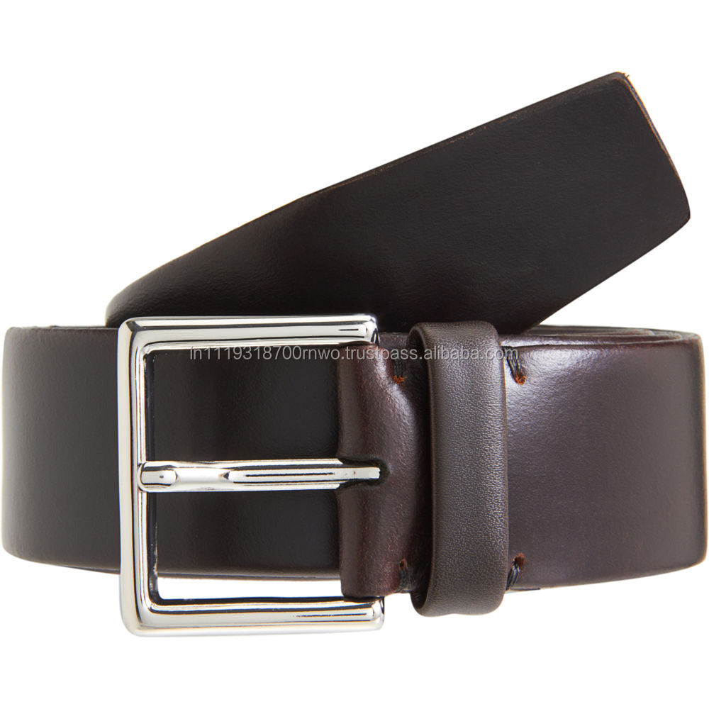 Genuine Leather belts with different rivets