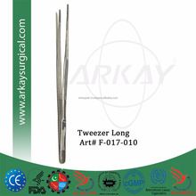 Tweezers Long Stainless Steel Curved Tweezer ARKAY PAK INSTRUMENTS