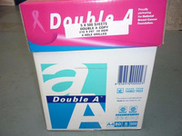 Original Double A Multipurpose 8.5'' x 11'' Paper 10 ream case 5000 sheets A4 copier paper a3 copy paper