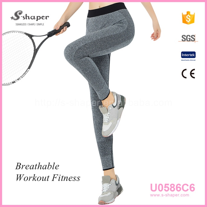 S - SHAPER Yoga Leggings With Custom Logo Yoga Leggings U0586C6