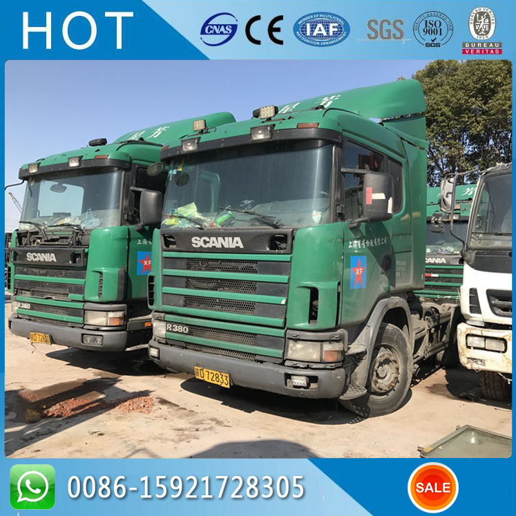 International Tractor Truck Head For Sale Scania Used Truck Head R380
