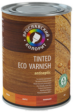 Water-based coloured Wood Varnish